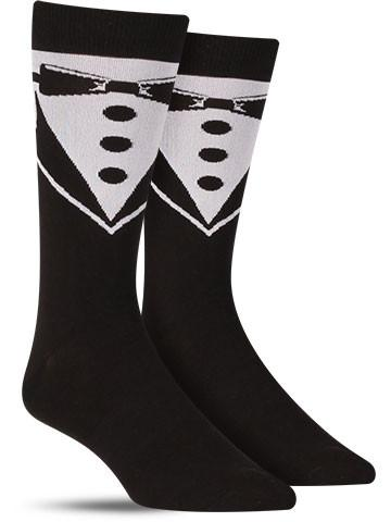Men's Black Tie Socks