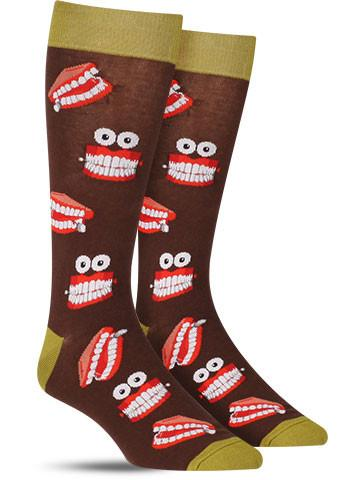 Men's Chatty Teeth Socks