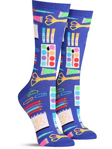 Women's Art Supplies Socks