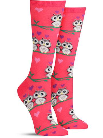 Women's Owl Love Socks