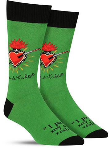 Men's Frida Heart Socks