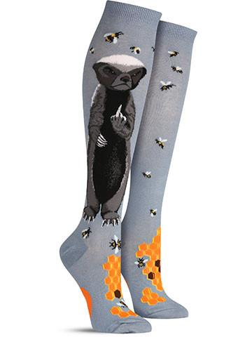 Honey Badger Knee High Socks