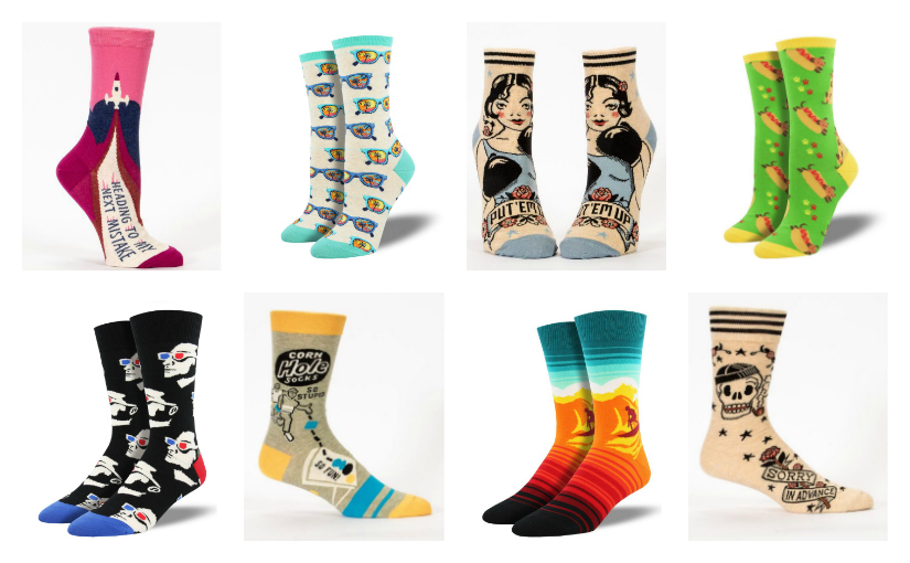 More New Socks Are on Their Way!