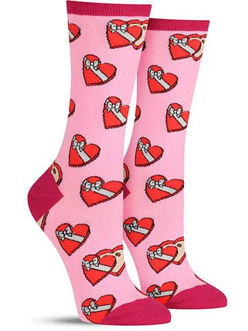 Women's Valentine's Day Saved You Some Socks