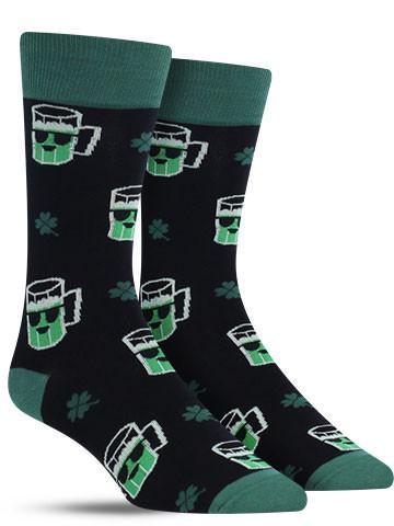Lucky Beer Socks