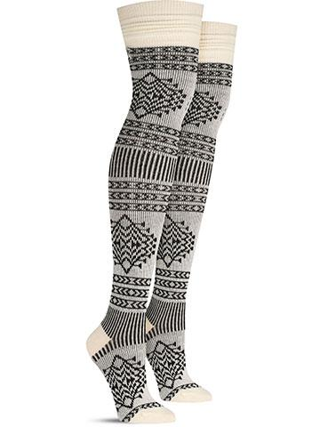Tolovana Wool Over the Knee Socks