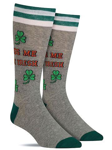Kiss Me I'm Irish Socks