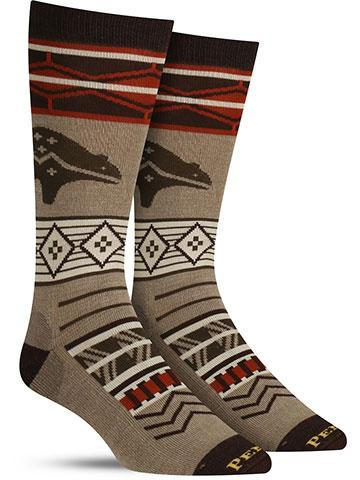 Pacific Wonderland Wool Socks