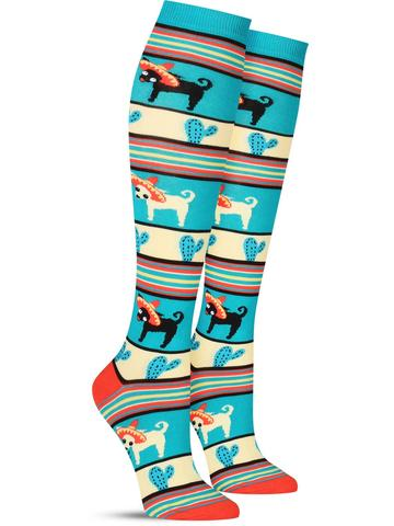 Yo Quiero Sombrero Knee High Socks