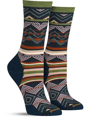 Ripple Creek Wool Socks