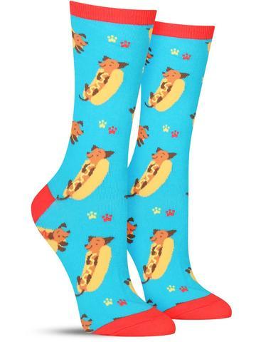 Wiener Dog Socks