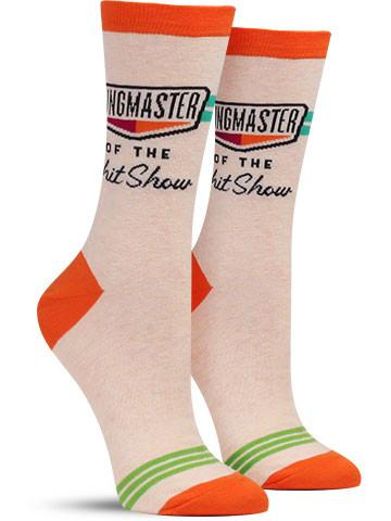 Ringmaster of Sh*t Show Socks
