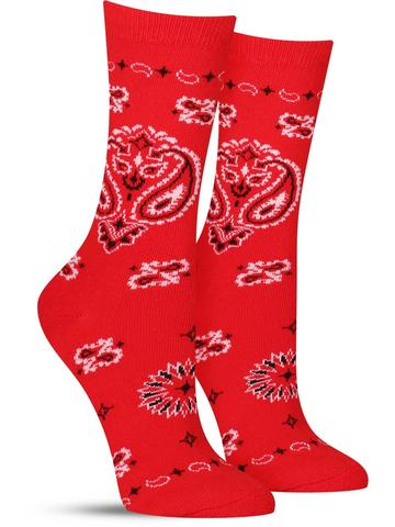 Women's Bandana Socks