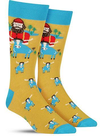 Men's Paul Bunyan Socks