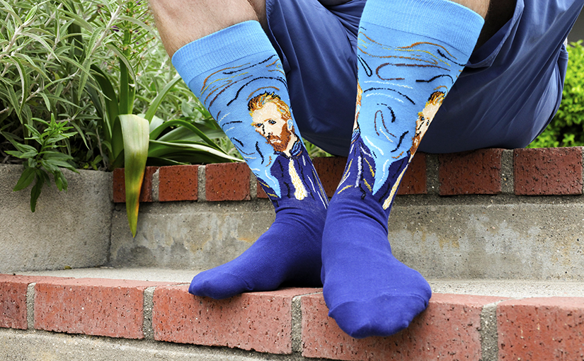 Get Creative in New Art Socks & Old Classics