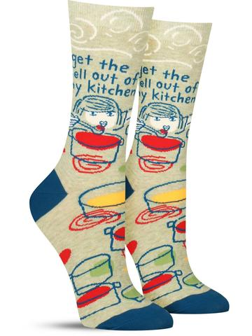 Women's Get the Hell Out Socks