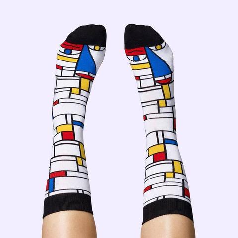 Feet Mondrian Socks