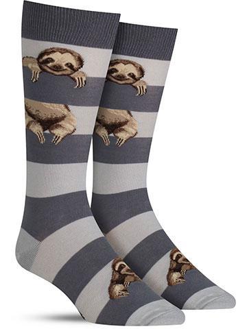 Sloth Stripe Socks