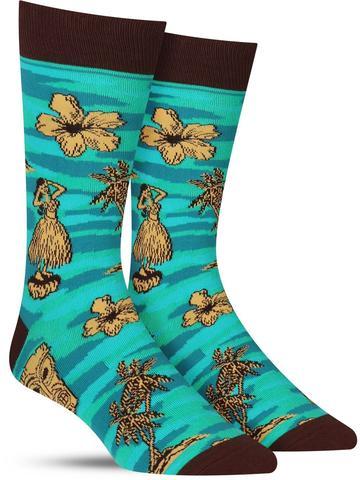 Men's Tiki Toes Socks
