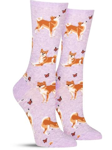 Women's Shiba Inu Socks