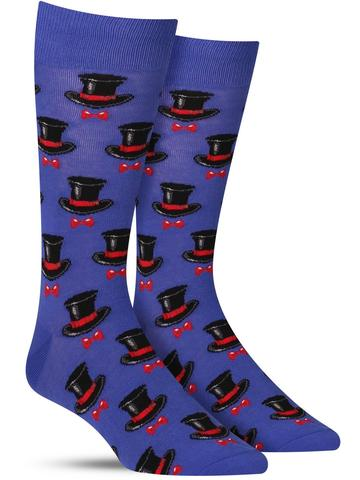 Top Hat and Bow Tie Socks