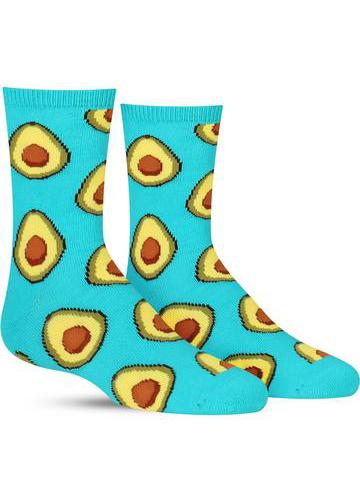 Kids' Avocado Socks