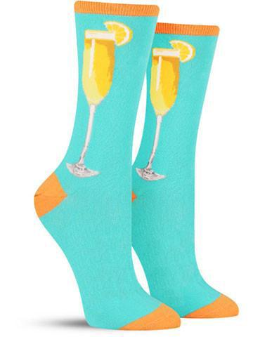 Bottomless Mimosas Socks