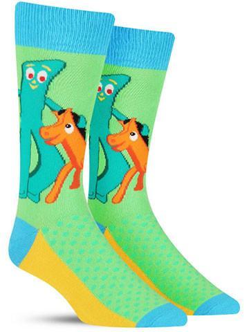 Men's Gumby & Pokey Socks