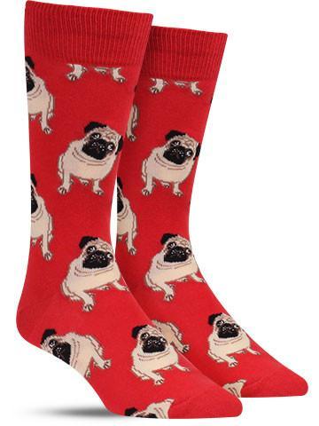 Men's Pug Socks