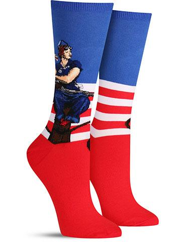 Women's Rosie the Riveter Socks