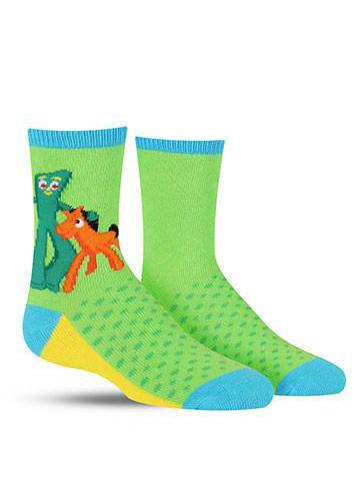 Kids' Gumby & Pokey Socks