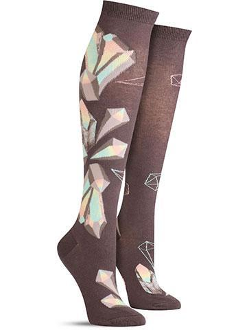 Crystals Knee High Socks