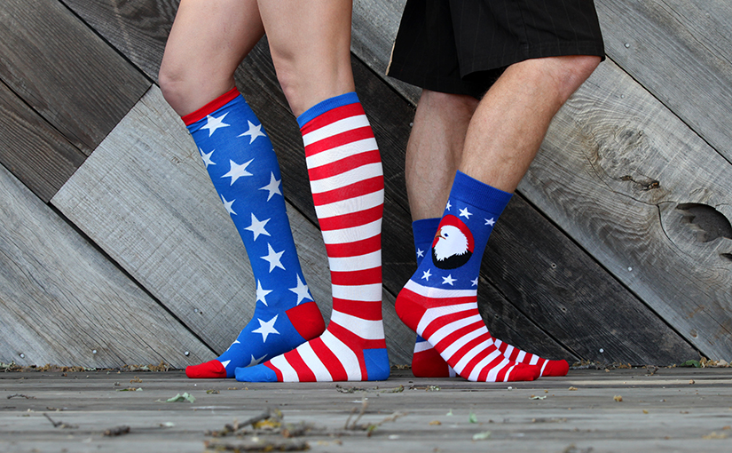 Proud Patriotic Socks for Your Summer Celebrations