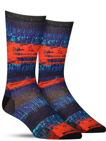 Men's Fiery Curated Wool Socks