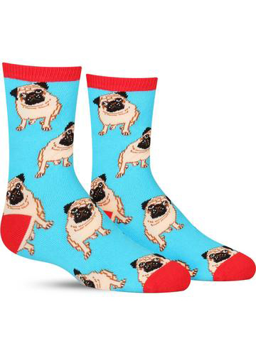 Kids' Pug Socks