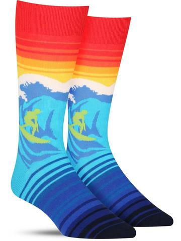 Catch a Wave Socks