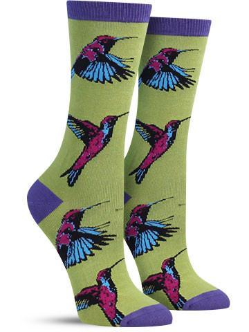 Hummingbirds Socks