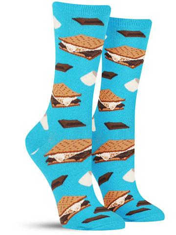 Want S'more Socks