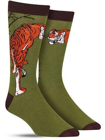 Tiger Bamboo Socks
