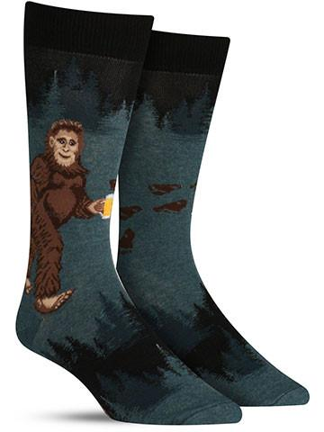 Sasquatch Loves Beer Socks