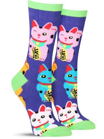 Good Luck Cat Socks