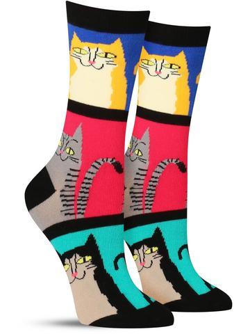 Mod Meow Socks