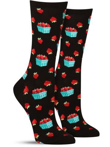 Strawberry Pint Socks