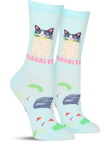Purrrito Socks