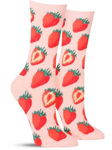 Sweet Strawberries Socks