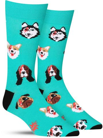 Dogs of Rock Socks