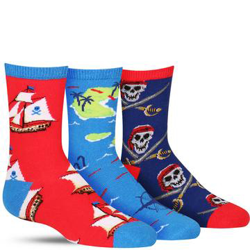 A Pirate's Life Socks (3-Pack)