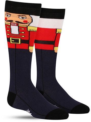 Nutcracker Knee High Socks