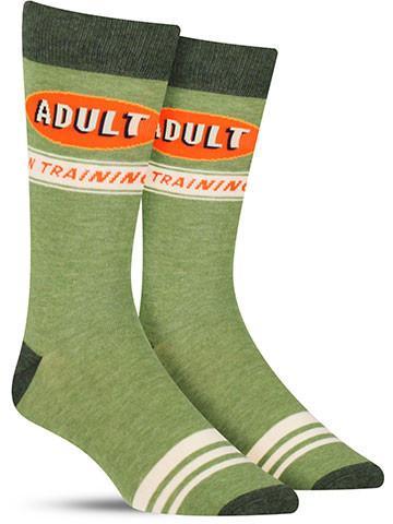 Adult in Training Socks