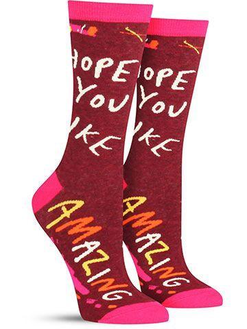 Hope You Like Amazing Socks